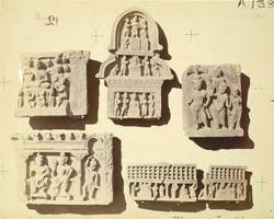 Miscellaneous Buddhist sculptures and fragments from the monasteries at Sanghao and Nutta, Peshawar District